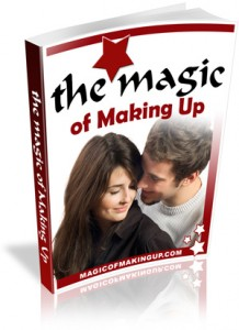 Magic of Making Up book cover
